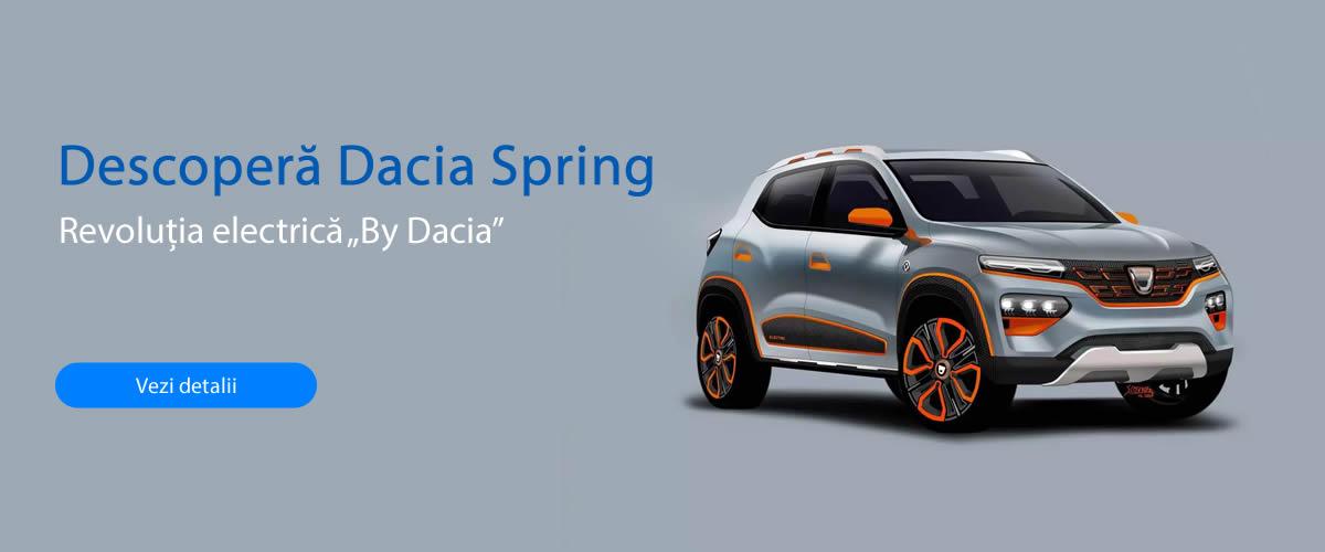Descoperă Dacia Spring