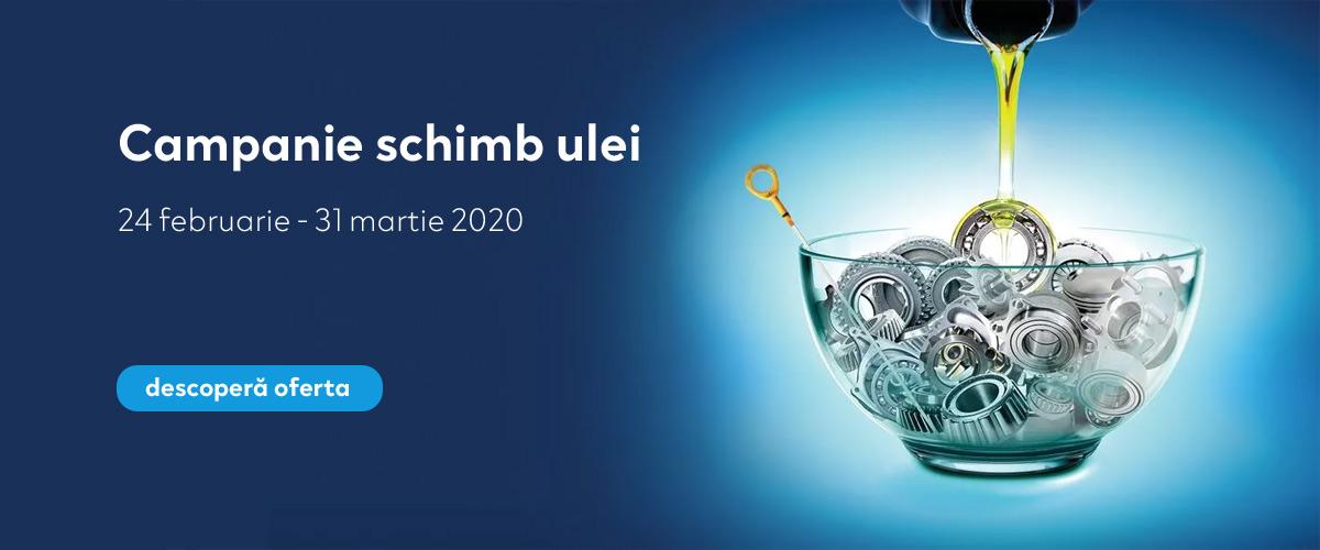 Campanie Schimb Ulei