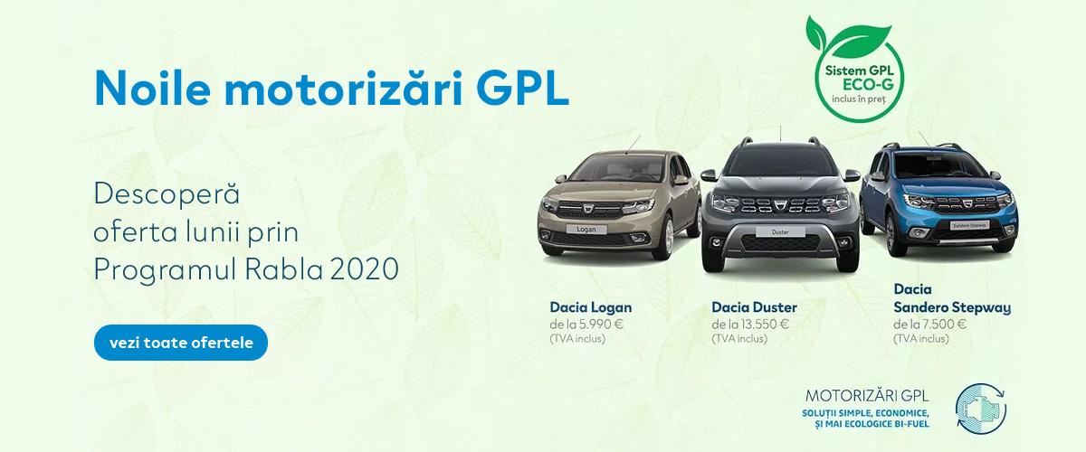 Promotii Dacia Rabla 2020